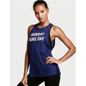 Victoria's Secret Sport The Player Logo Tank Top